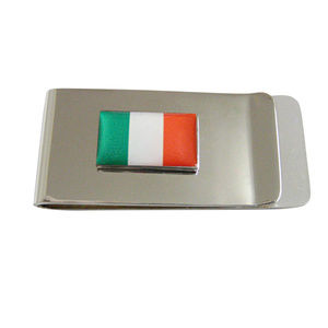 Italy Flag Money Clip
